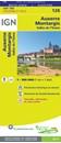 Auxerre - Montargis - Vallee de l'Yonne IGN TOP100 128