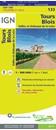 Tours - Blois - Vallee et Chateaux de la Loire IGN TOP100 133