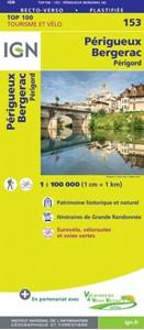 Perigueux - Bergerac - Perigord IGN TOP100 153