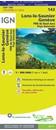 Lons-le-saunier - Geneve PNR du Haut-Jura - Pays Genevois IGN TOP100 143
