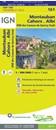 Montauban - Cahors - Albi - PNR des Causses du Quercy (Sud) IGN TOP100 161