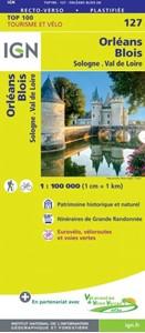 Orleans - Blois - Sologne - Val de Loire IGN TOP100 127