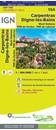 Carpentras - Dignes-les-Bains - Mont Ventoux - PNR du Verdon - PNR du Luberon IGN TOP100 164