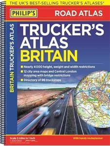 Britain Philip's Trucker's Road Atlas