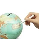 Save The World - Money Box Globe