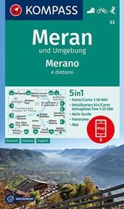 Merano and Surroundings Kompass 53