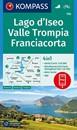 Lago d'Iseo - Valle Trompia - Franciacorta Kompass 106