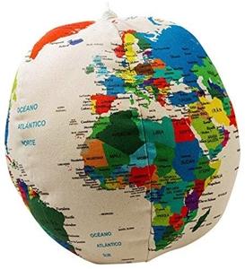 OrEthic Urantia Globe - Ecological Cloth Planet