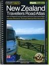 New Zealand Kiwimaps Travellers Road Atlas