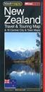 New Zealand Kiwimaps Travel & Touring Map