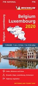 Belgium - Luxembourg 2020 Michelin