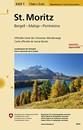 St. Moritz - Bergell - Maloja - Pontresina Swisstopo Hiking 3320T